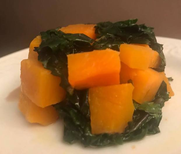 KALE SWEET POTATOE